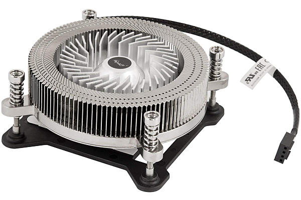 Cooling fan designed to be installed over a computer CPU